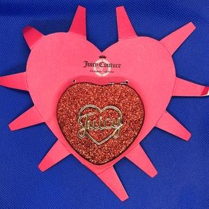 Juicy Couture Juicy Red Heart Compact Mirror